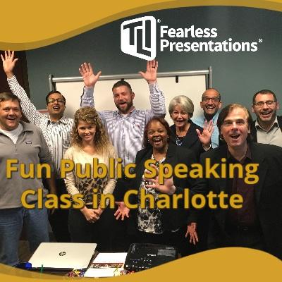 Fun Public Speaking Class Charlotte NC