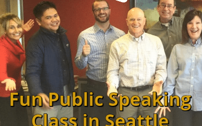 2016 March Seattle Public Speaking Class