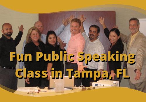 Fun Public Speaking Class in Tampa, Florida