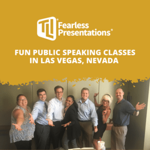 Fun Public Speaking Classes in Las Vegas, NV
