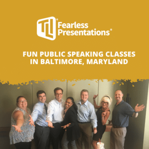 Fun Public Speaking Classes in Baltimore, Maryland