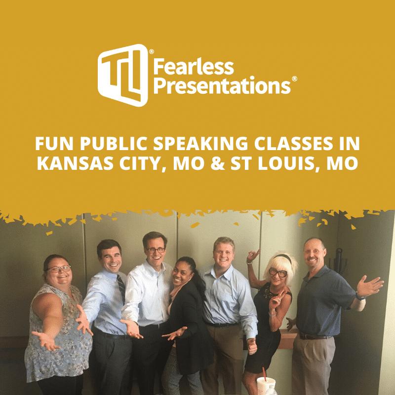 Fun Public Speaking Classes in St Louis MO