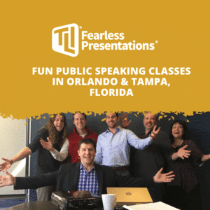 Fun Public Speaking Classes in Orlando & Tampa, Florida
