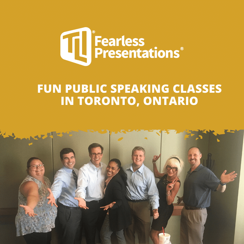 Fun Public Speaking Classes in Toronto, Ontario