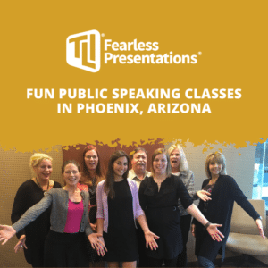 fun public speakig classes in Phoenix Arizona