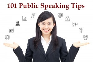 101 Public Speaking Tips