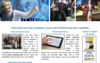 New Fearless and Persuasive Speaking Website