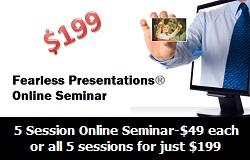 Online Public Speaking Seminar