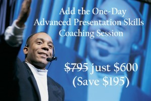 Add Advanced Presentation Skills