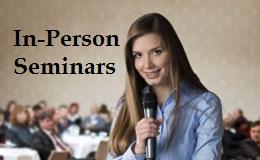 in person public speaking seminars