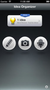 Idea Organizer Screenshot