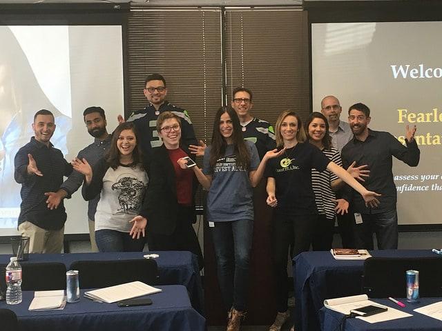 Custom Presentation Skills Class in Houston for QuestIRA