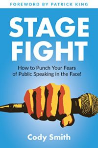 Stage Fight Punch Public Speaking Fears in the Face
