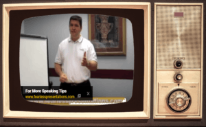 Vintage (and Somewhat Embarrassing) Early Presentation Skills Videos
