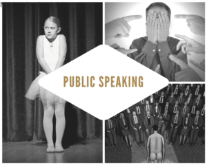 I'm the Only One with Public Speaking Fear