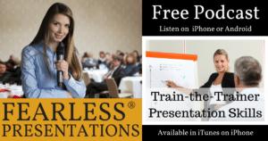 train the trainer presentations skills fearless presentations