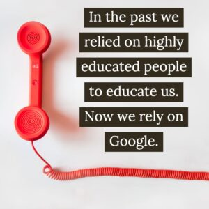 Salespeople Used to Educate Us. Now Google Does
