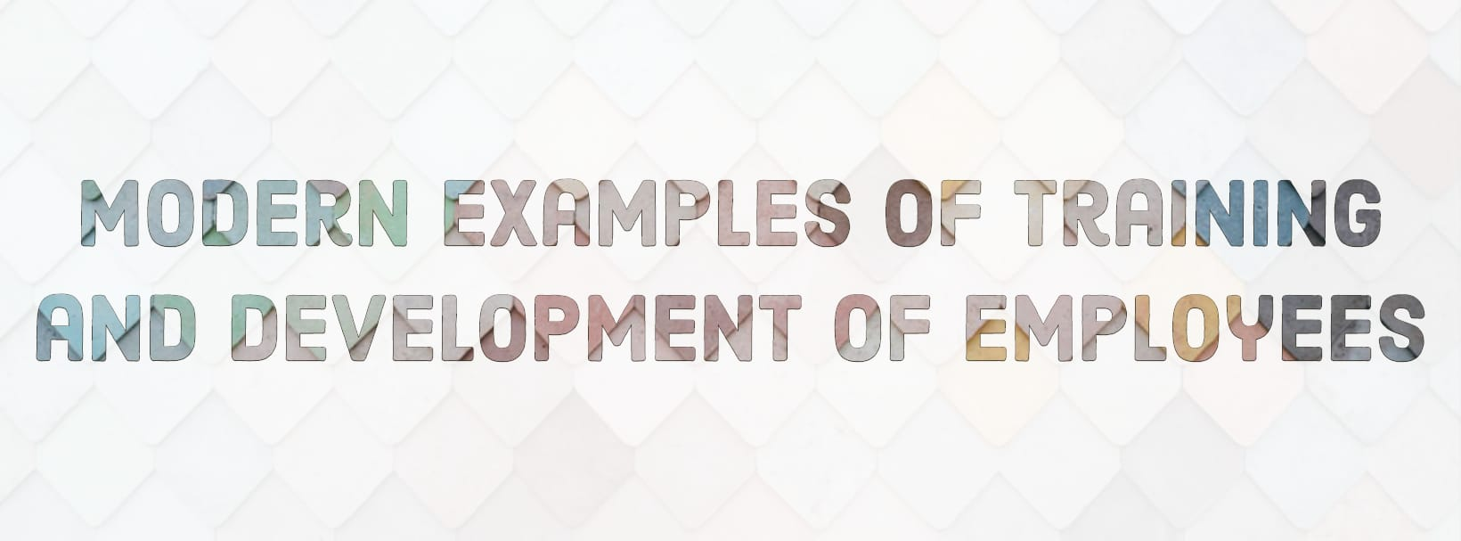 Modern Examples of Training and Development