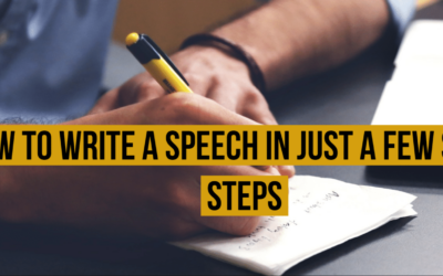 How to Write a Speech in Just a Few Simple Steps