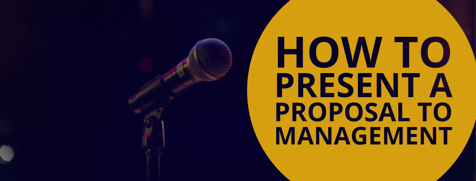 How to Present a Proposal to Management