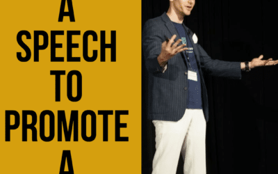 Using a Speech to Promote a Product or Service-Use Public Speaking as Marketing