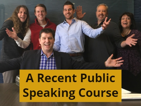 A Recent Public Speaking Course