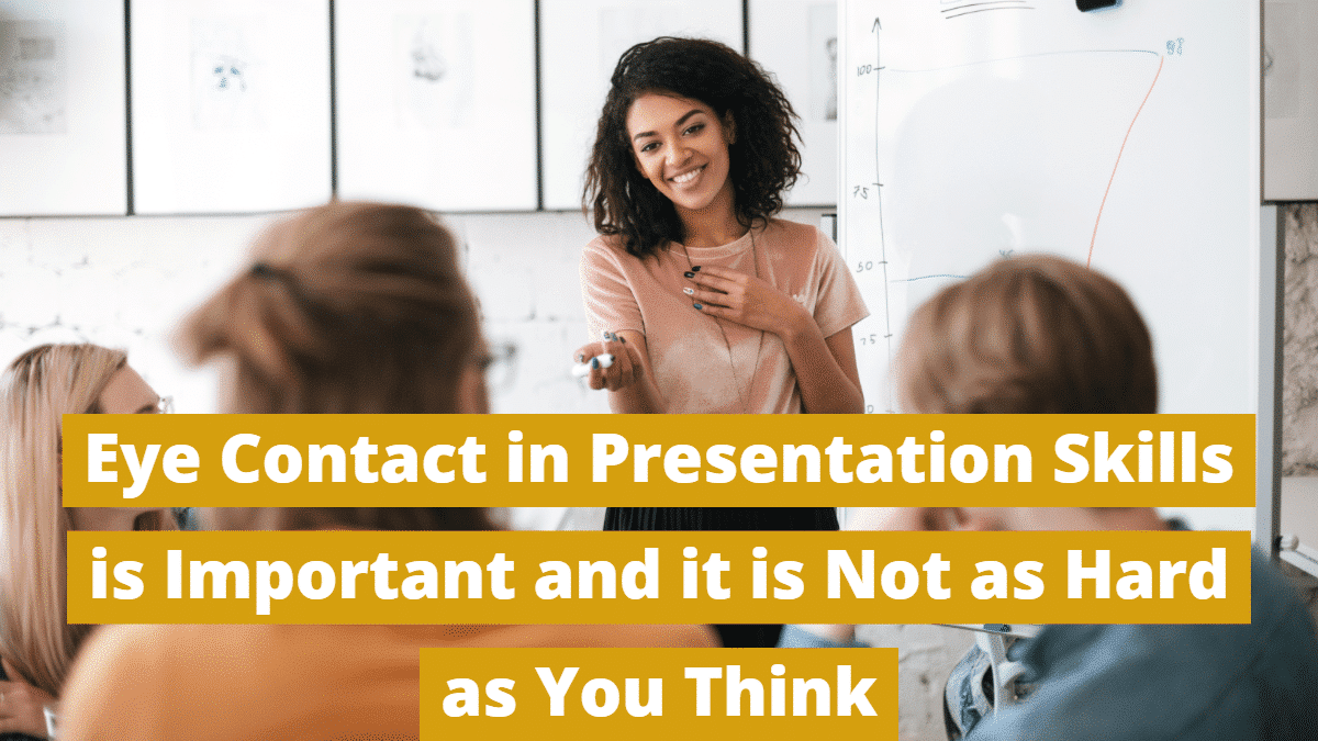 Eye Contact in Presentations