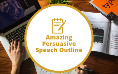 Amazing Persuasive Speech Outline with Sales Presentation Examples