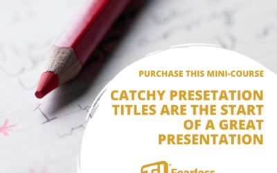 Catchy Presentation Titles Mini-Course Product