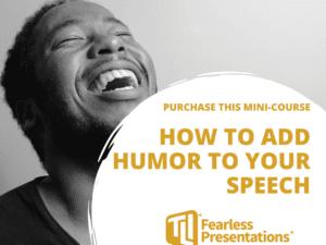 How to add humor Mini Course