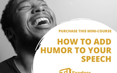 How to Add Humor to Your Speech Mini-Course