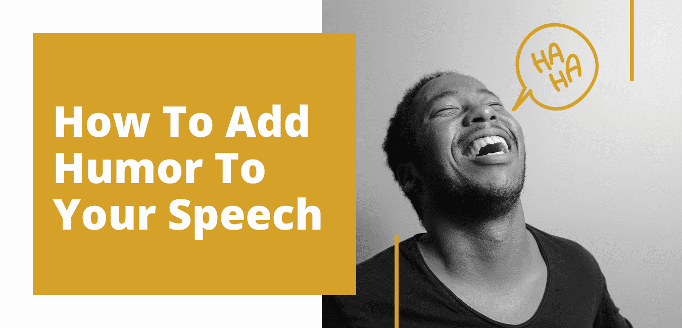 How to add humor to your speech mini course