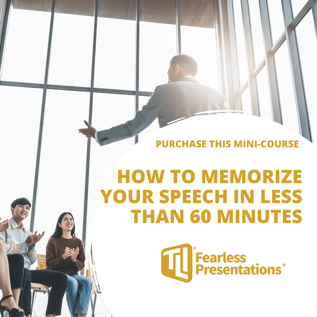 How to memorize your speech Mini Course