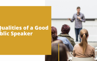 7 Qualities of a Good Public Speaker Information Page