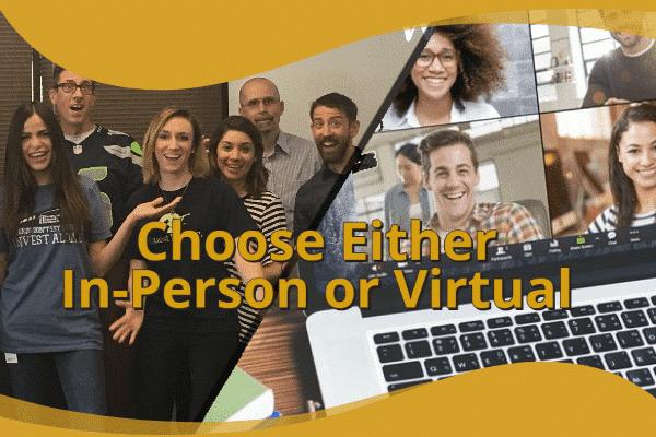 Choose Between In-Person Seminars or Virtual Presentation Classes