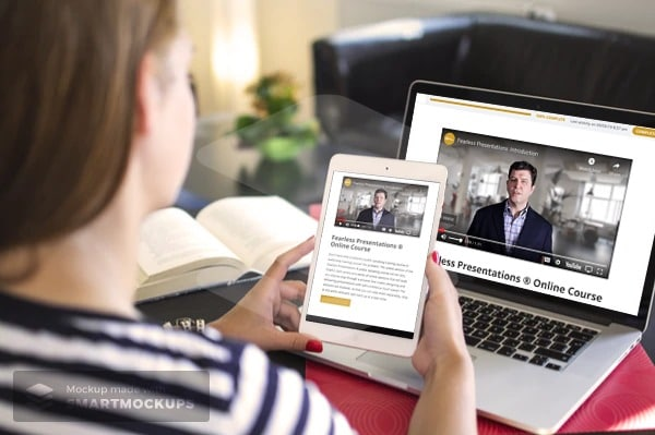 Online Classes Help Increase Self-Confidence in Privacy of Home