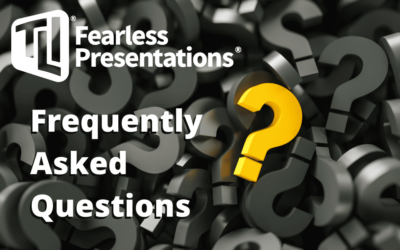 Frequently Asked Questions About Public Speaking and Presentations