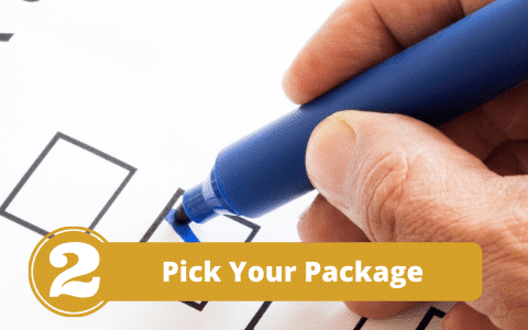 Pick Your Presentation Class Package
