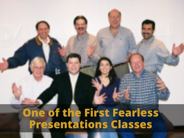 One of the First Fearless Presentations Classes
